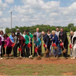 Groundbreaking in Purcell