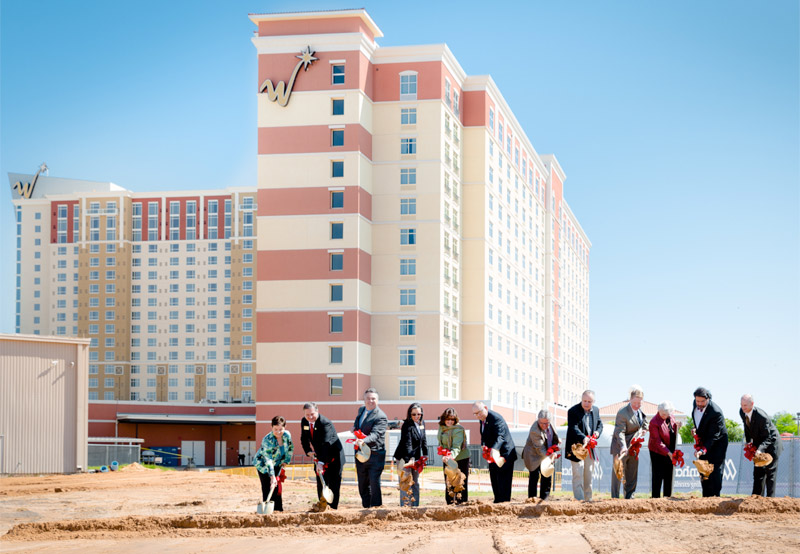 Groundbreaking at WinStar World Casino
